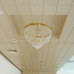 панели мдф на потолок в кухне