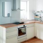 Маленькая кухня с газовой колонкой дизайн