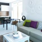 Кухня - гостиная 15 кв м дизайн