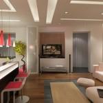 Кухня-гостиная 17 кв м дизайн и интереьер в японском стиле