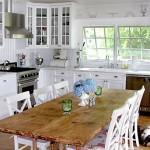 красивая кухня в стиле прован