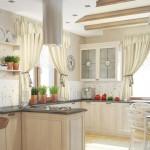 белая кухня в стиле прован