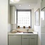 дизайн маленькой кухни 4 кв метра в белом цвете