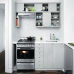 дизайн маленькой кухни 4 кв метра в белом цвете фото