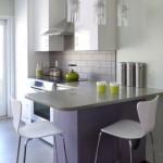 Кухни для маленьких кухонь С БАРНОЙ СТОЙКОЙ
