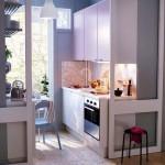 Кухни для маленьких кухонь НА БАЛКОНЕ
