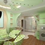 салатовые кухни дизайн фото