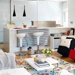 дизайн кухня гостиная