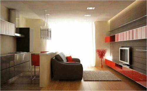 дизайн кухни гостиной 16 квадратов 5