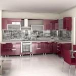 кухни с фартуком фотопечать