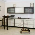 дизайн кухни 8 кв метров в японском стиле