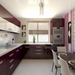 прямоугольная кухня 8 кв м