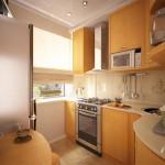 кухня 7 кв м дизайн