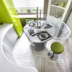 Дизайн кухни на 9 кв м в стиле хай тек