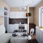 Дизайн кухни маленькой кухни