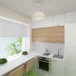 Кухни в хрущевке 5 кв м дизайн с холодильником