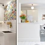 белые кухни 6 кв метров