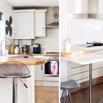 барные стойки на маленькой кухне