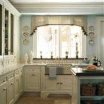 постельный зеленый цвет в интерьере кухни